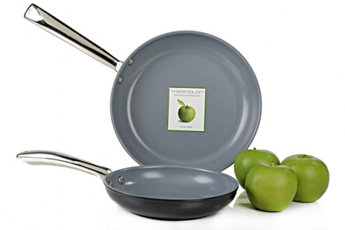 GreenPan Classic Collection 2 Piece Non-Stick Fry Pan Set with Thermolon