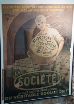 Old Roquefort publicite on eatlivetravelwrite.com