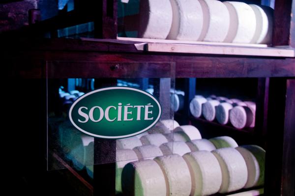Inside the caves at Roquefort on eatlivetravelwrire.com