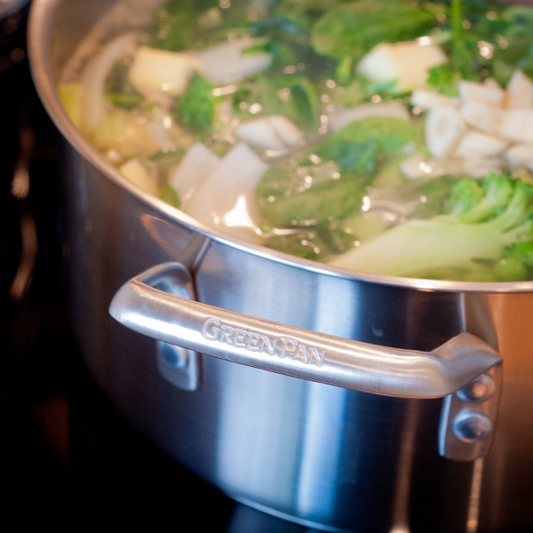 Using McEwan by GreenPan 5L Stainless Steel Stock Pot on eatlivetravelwrite.com