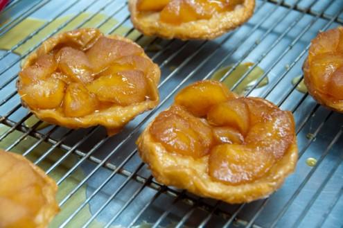 Mini tarte tatin at Sandrine Pastry class on eatlivetravelwrite.com