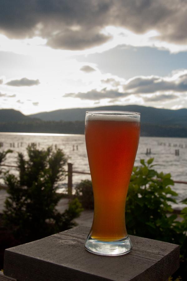 A glass of beer on eatlivetravelwrite.com