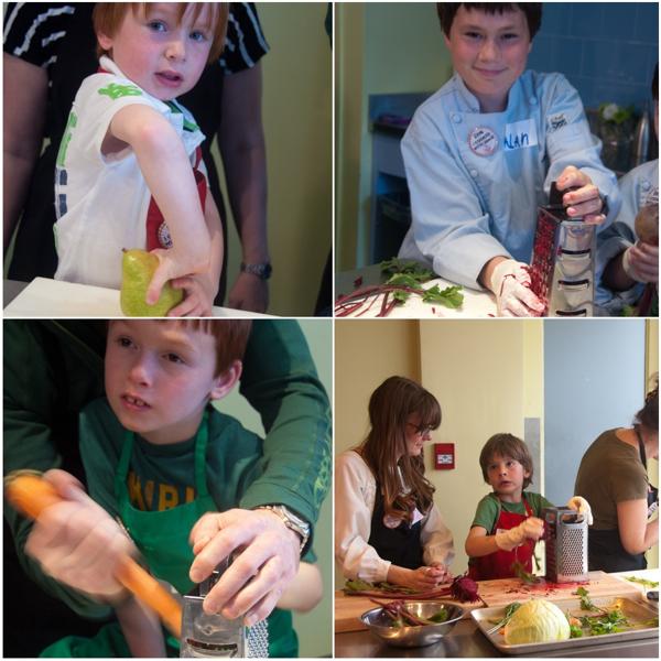 Kids at Nella Cucina for Food Revolution Day 2014 on eatlivetravelwrite.com