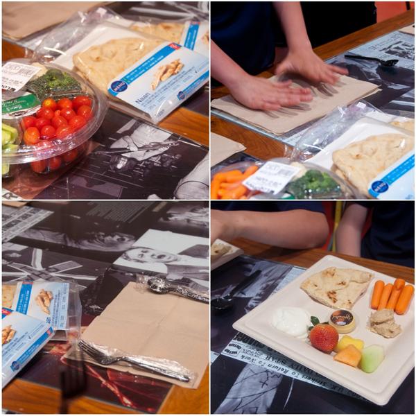 Kids eating healthy snacks at Loblaws on eatlivetravelwrite.com