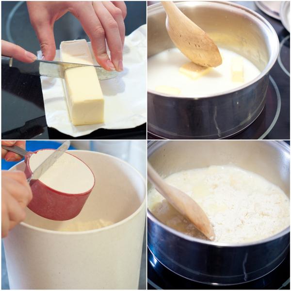 Kids making choux pastry on eatlivetravelwrite.com