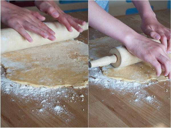 Kids rolling shortcrust pastry on eatlivetravelwrite.com