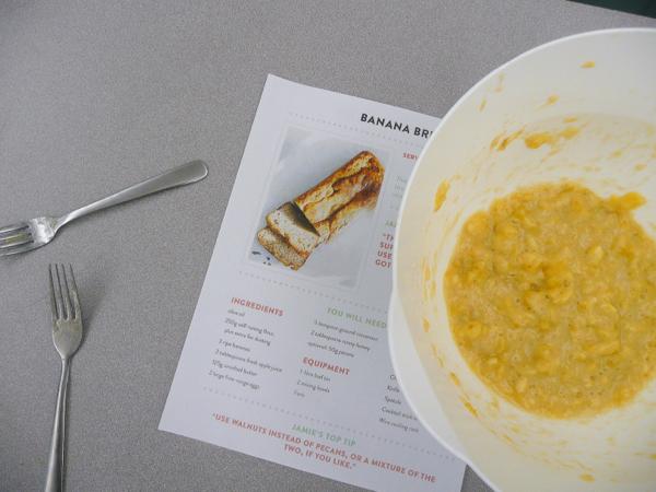 Jamie Oliver banana bread on eatlivetravelwrite.com