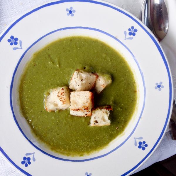 Jamie Oliver garden glut soup on eatlivetravelwrite.com