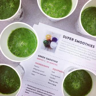 Jamie Oliver super green smoothies on eatlivetravelwrite.com