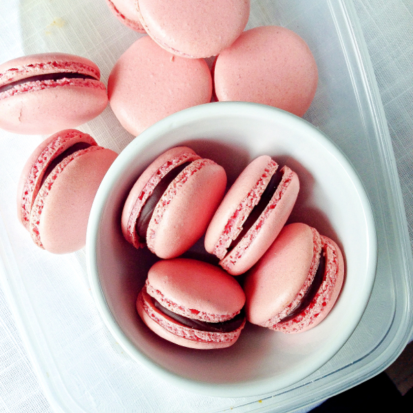 Macarons by Mardi Michels on eatlivetravelwrite.com