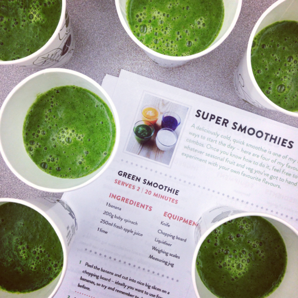 Jamie Oliver super green smoothies on eatlivetravelwrite.com