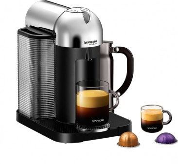 Nespresso VertuoLine machine on eatlivetravelwrite.com