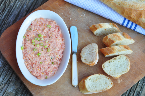 Dorie Greenspan salmon rillettes from Around my French Table on eatlivetravelwrite.com