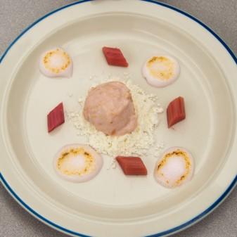 Rhubarb in textures John Placko on eatlivetravelwrite.com
