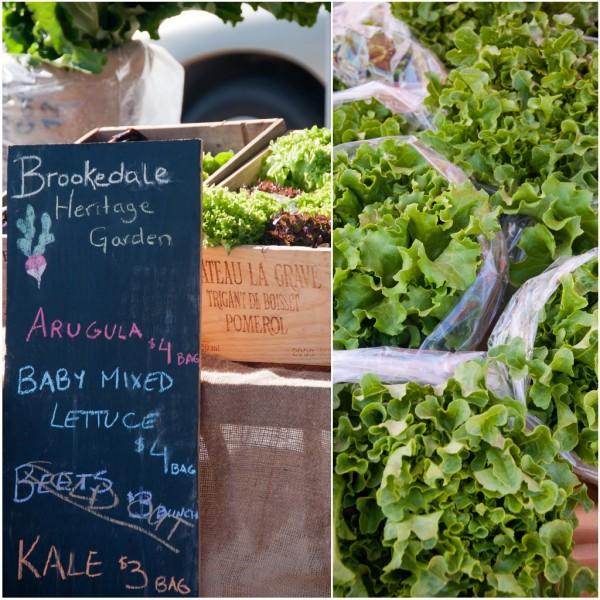 Heritage Garden Greens at Kelowna Farmers and Crafters Market on eatlivetravelwrite.com