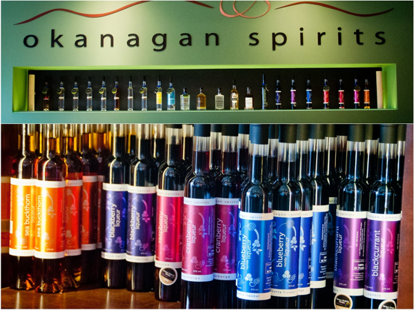 Okanagan spirits in Kelowna on eatlivetravelwrite.com