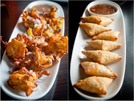 Samosas and pakoras at Hillcrest Farm Market on eatlivetravelwrite.com