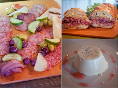 Sandwiches, sharing boards and dessert at The Salted Brick on eatlivetravelwrite.com
