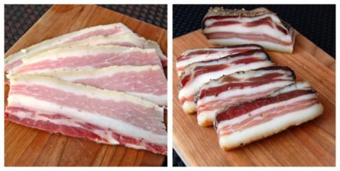 Charcutepalooza bacon and pancetta