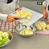 Kids chopping cauliflower on eatlivetravelwrite.com