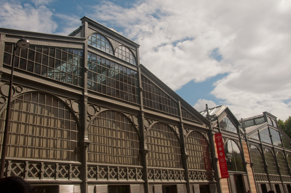 The Carreau du Temple in Paris on Taste of the Marais tour on eatlivetravelwrite.com