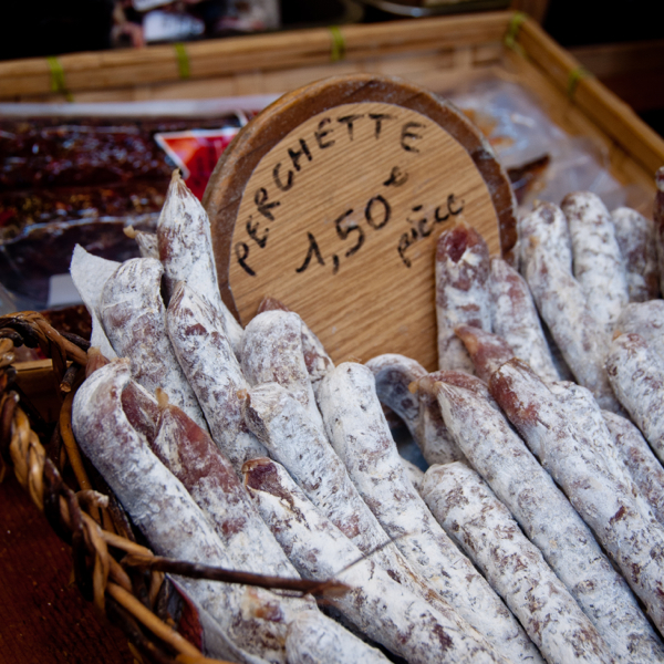 Mini saucisson in Paris on Taste of the Marais tour on eatlivetravelwrite.com