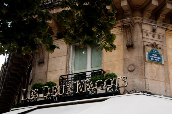 Les Deux Magots on eatlivetravelwrite.com