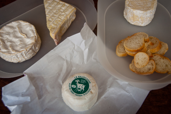 Cheese tasting on Delicious Normandy tour on eatlivetravelwrite.com