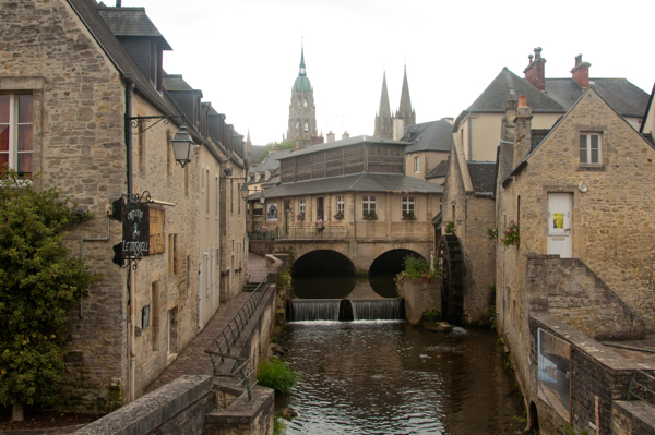 Bayeux on Delicious Normandy tour on eatlivetravelwrite.com