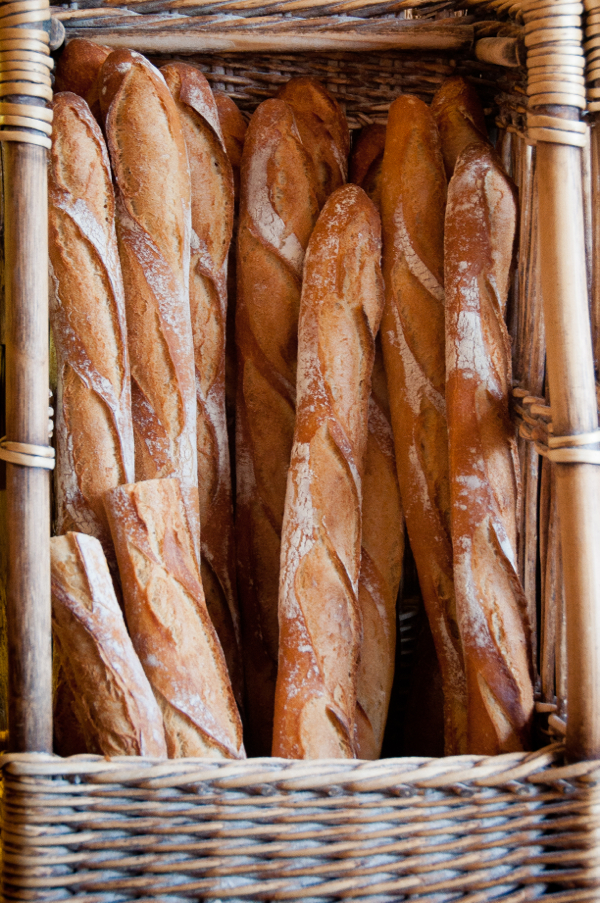 Baguettes in France on eatlivetravelwrite.com