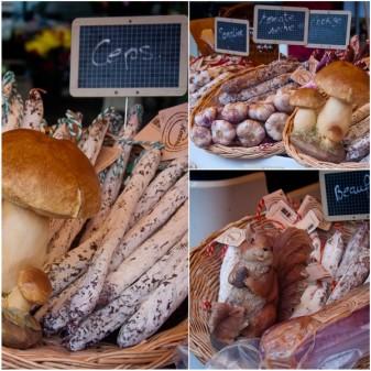 Saucissons at Bayeux Market on eatlivetravelwrite.com