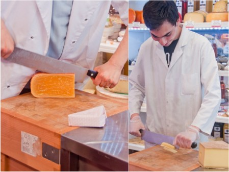 Cheesemonger on La Cuisine Paris cheese wine workshop