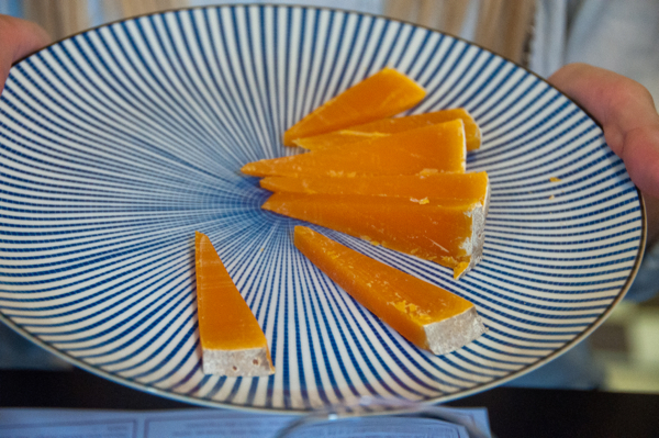 Mimolette cheese on eatlivetravelwrite.com