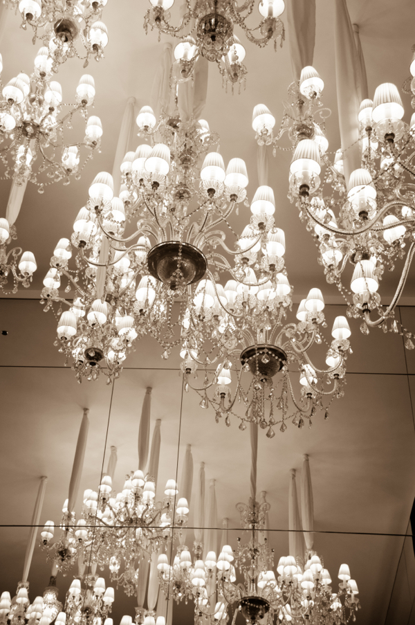 Chandelier in the Royal Monceau Paris on eatlivetravelwrite.com