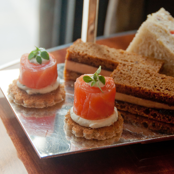 Savoury afternoon tea at Le Royal Monceau Paris on eatlivetravelwrite.com