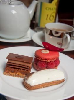 Sweet plate at Le Royal Monceau Paris afternoon tea on eatlivetravelwrite.com