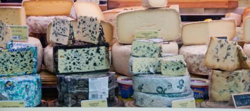 Cheese selection on Context Paris Aligre market tour on eatlivetravelwrite.com