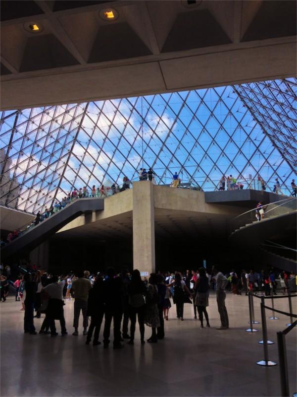 Inside the Louvre for THATLou on eatlivetravelwrite.com