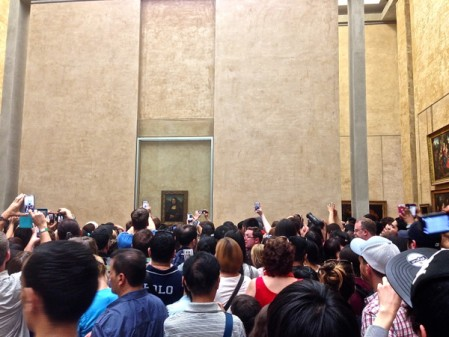Mona Lisa in the Louvre on THATLou on eatlivetravelwrite.com