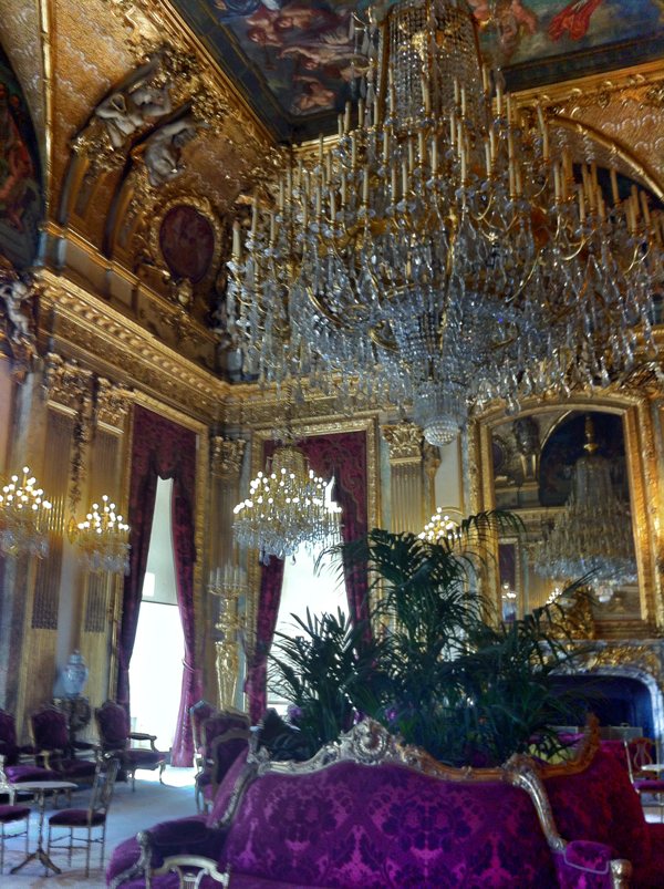 Apartment of Napoleon in the Louvre on THATLou on eatlivetravelwrite.com