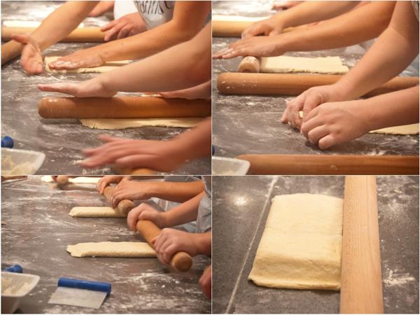 Making laminated dough at La Cuisine Paris on eatlivetravelwrite.com