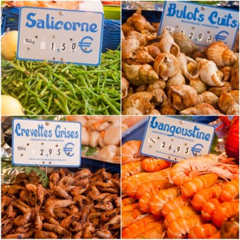 Seafood on Context Aligre market tour on eatlivetravelwrite.com