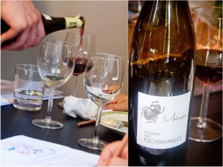 Tasting red wine at La Cuisine Paris cheese and wine workshop on eatlivetravelwrite.com
