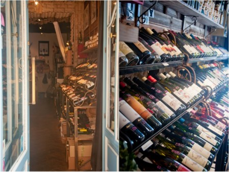 Wine store in Paris on La Cuisine Paris cheese and wine workshop
