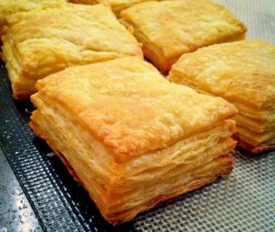 Puff pastry all puffed up at La Cuisine Paris on eatlivetravelwrite.com