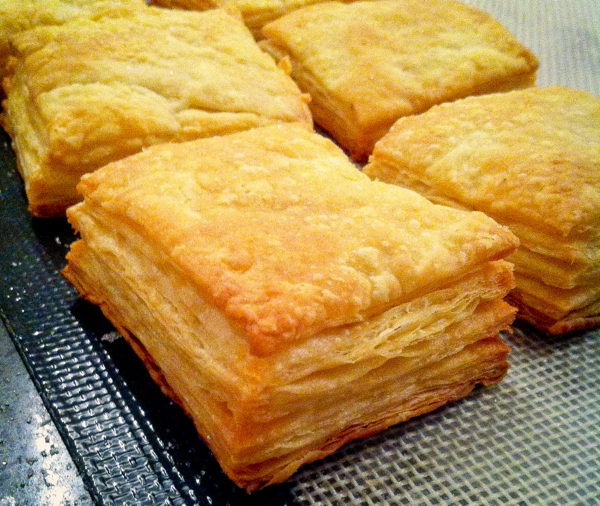 Puff pastry all puffed up at La Cuisine Paris on eatlivetravelwrite.com