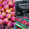 strawberries and apricots on Context Aligre market tour on eatlivetravelwrite.com