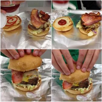 Assembling Jamie Oliver Insanity Burger