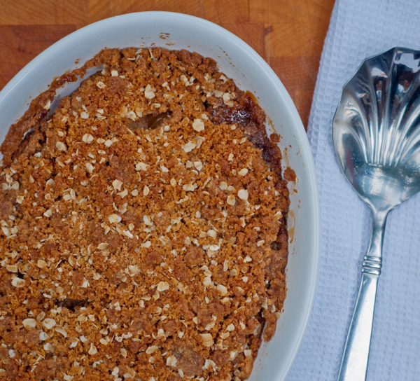 Apple crisp on eatlivetravelwrite.com