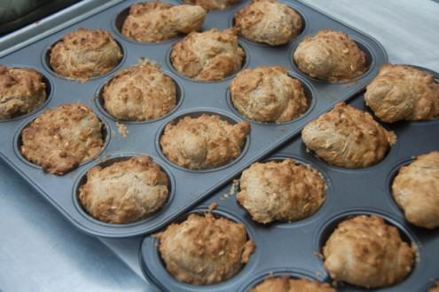 Brown soad bread rolls made by kids on eatlivetravelwrite.com